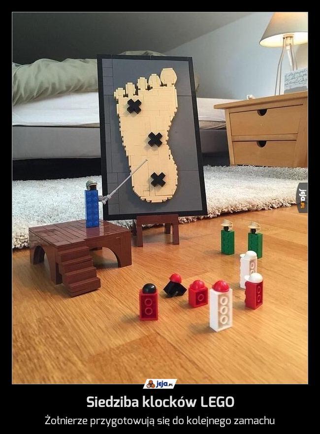 Siedziba klocków LEGO