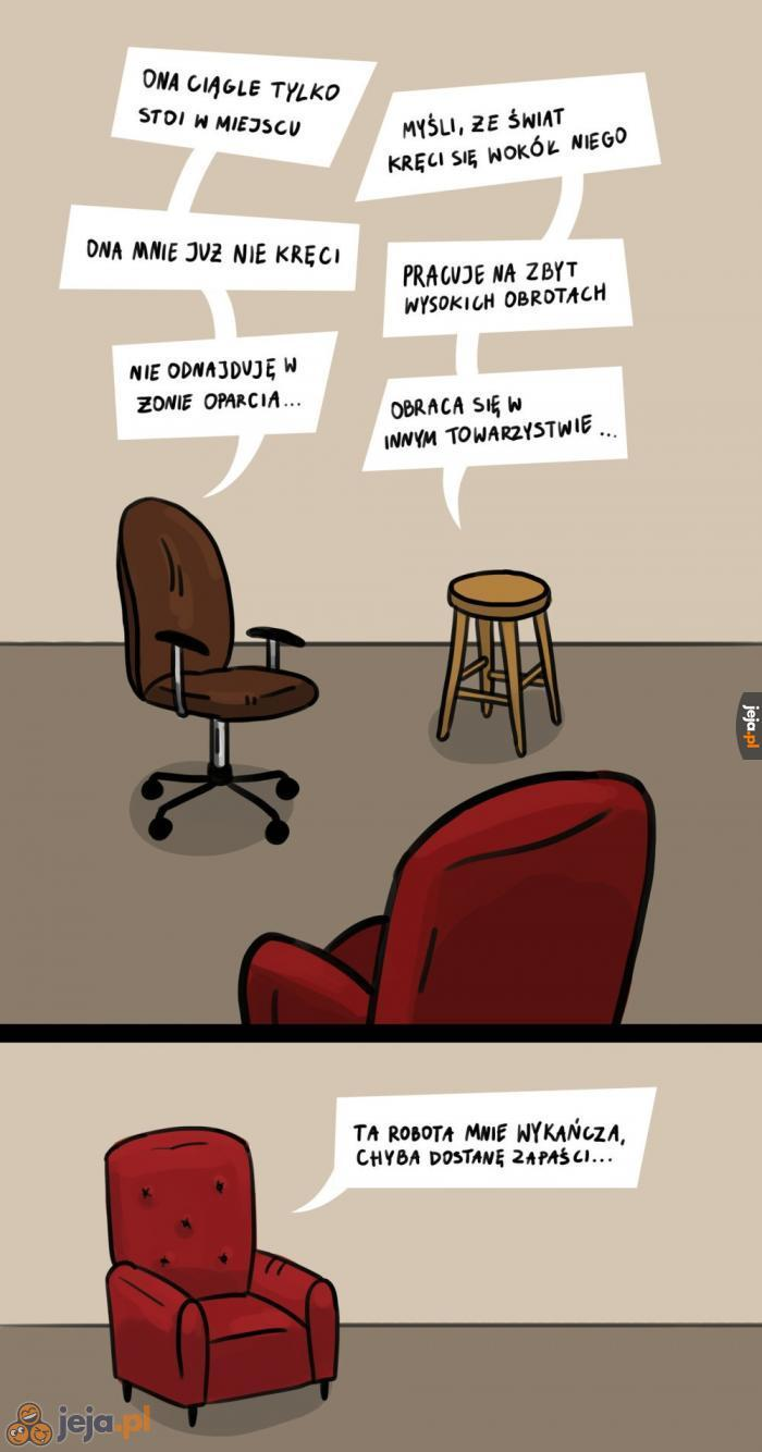 Problemy siedzisk