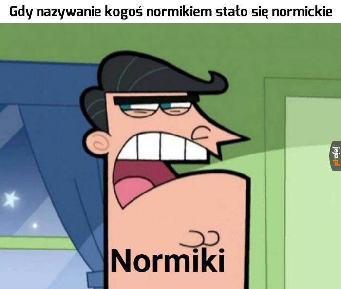 Wszyscy jesteśmy normikami