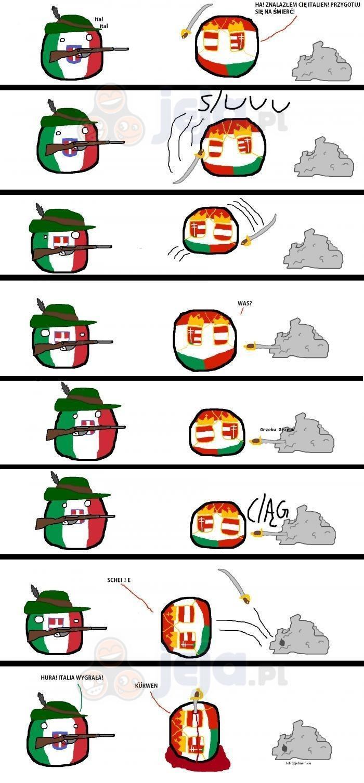 Austro-Węgry oraz Włochy