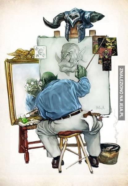 Orkowy autoportret
