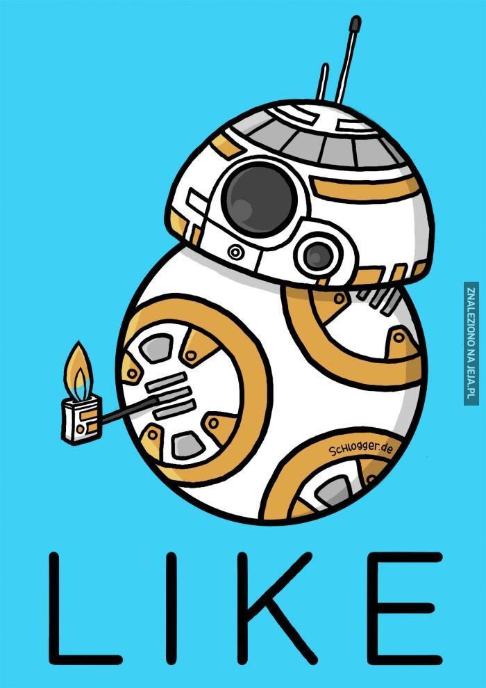 BB-8 daje lajka