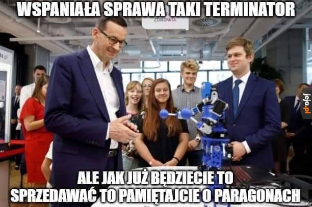 Polski Terminator prywaciarzy