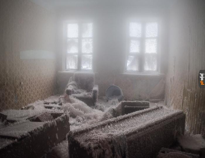 Zamrożony pokój