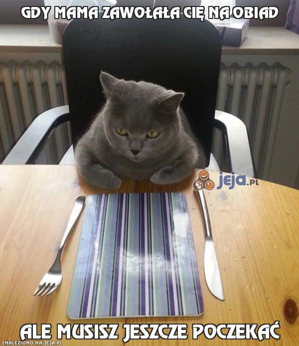 Gdy mama zawołała Cię na obiad