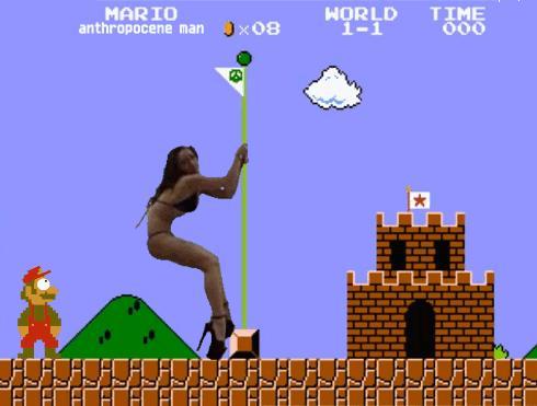 Co robi Mario po godzinach...