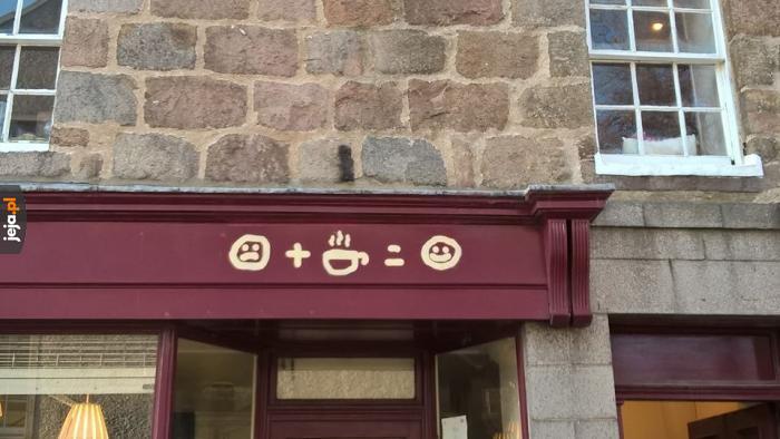 Moja ulubiona kawiarnia w Szkocji