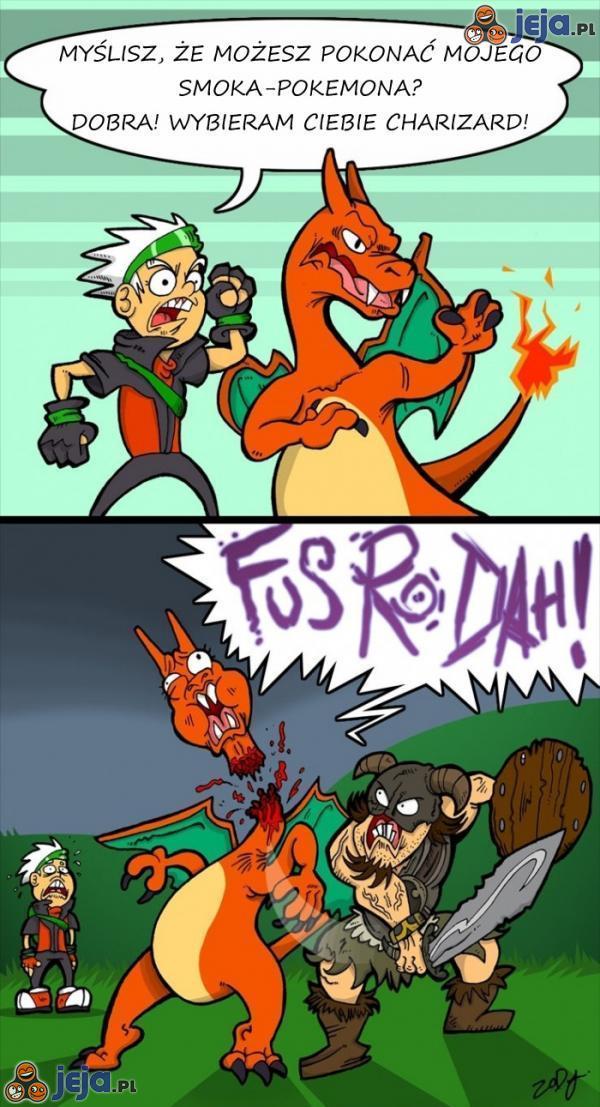 Skyrim vs Pokemony