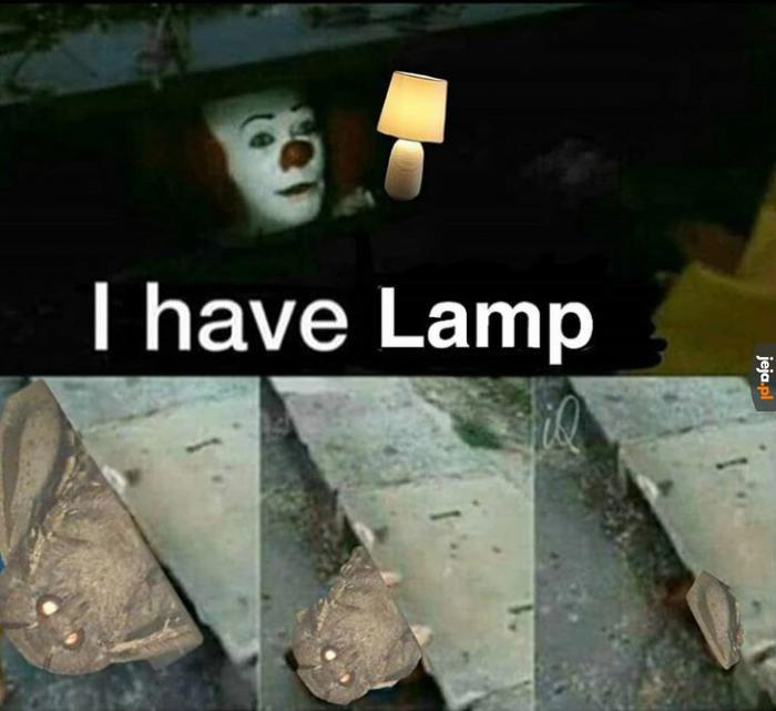 Psst... Mam lampę