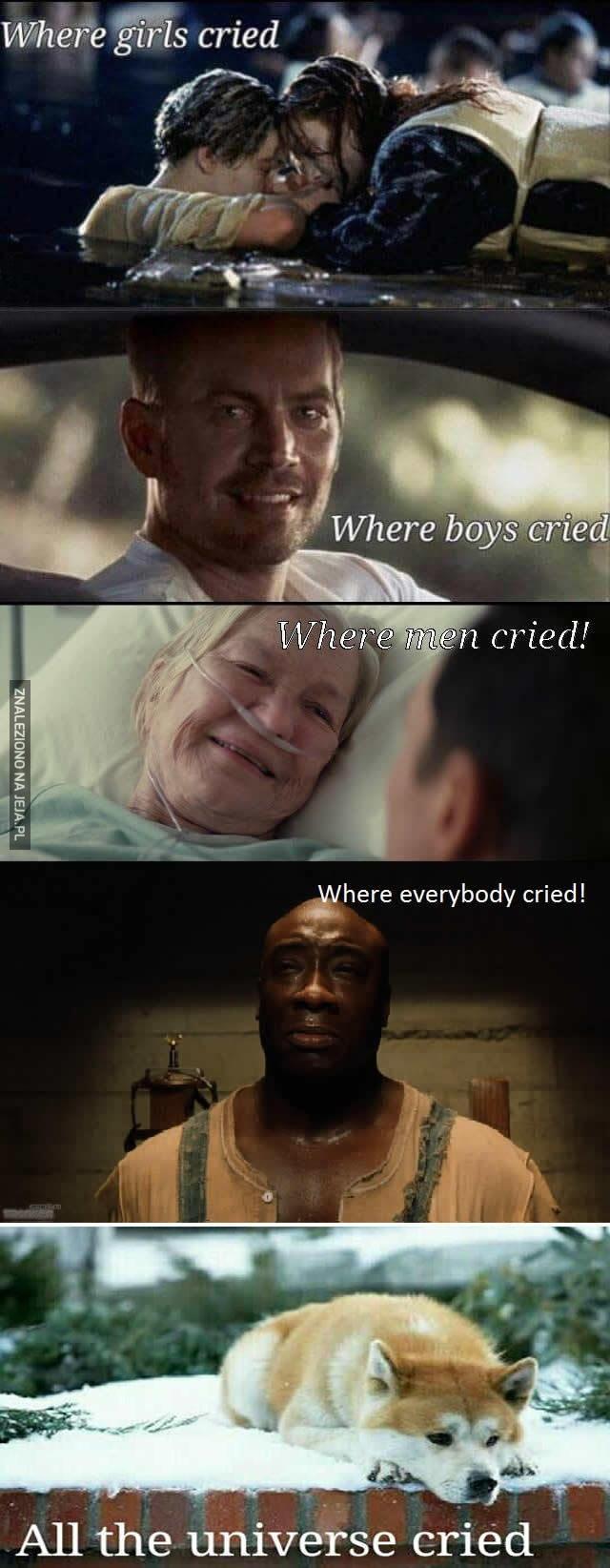 Filmy wyciskające łzy