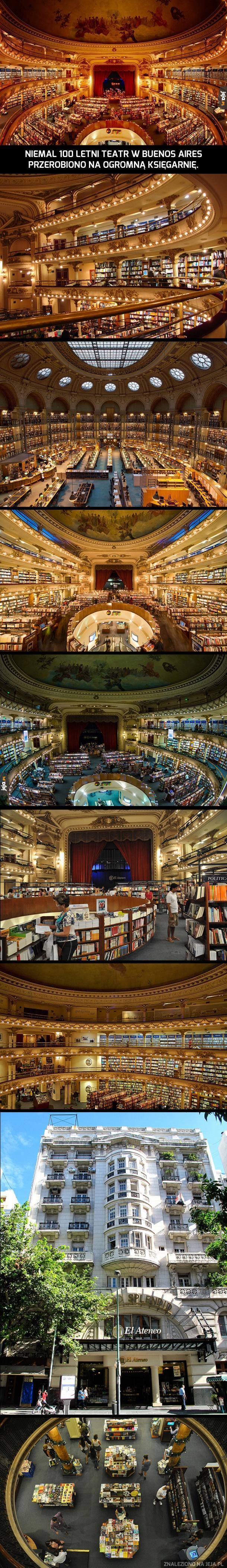 Cudowna księgarnia
