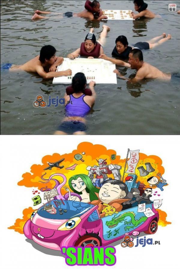 Zabawy na basenie