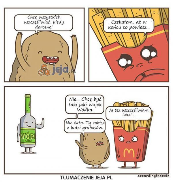 Biedne frytki...