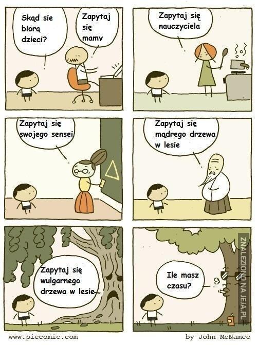 Skąd się biorą dzieci?