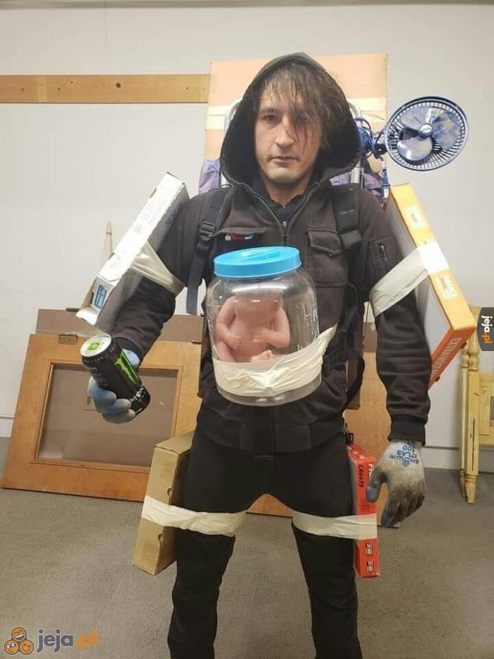 Idealny cosplay z Death Stranding