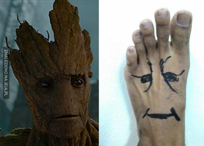 I am foot!