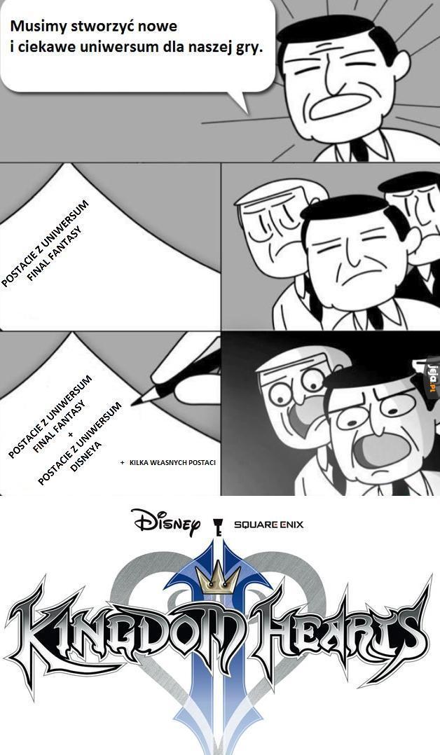 I tak powstało Kingdom Hearts