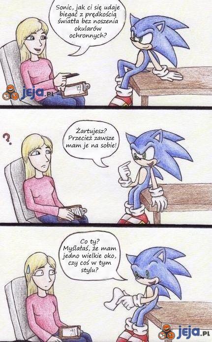 Gogle Sonic'a