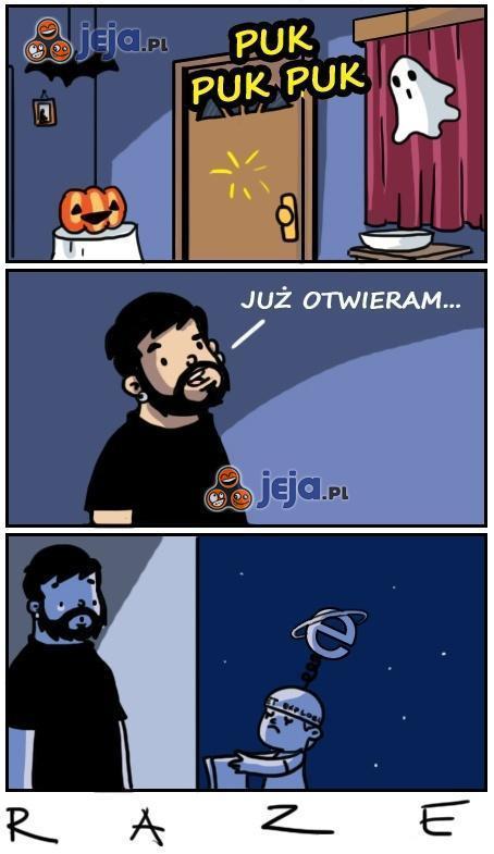 Halloween - bierz ich na litość