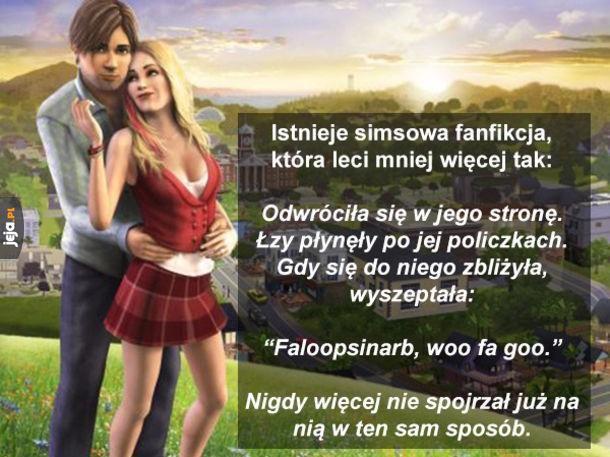 Simsowa fanfikcja