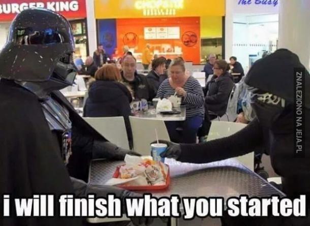 Smacznego, Vaderze!