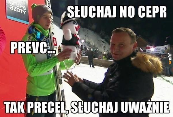 Peter Precel i Andrzej Duda