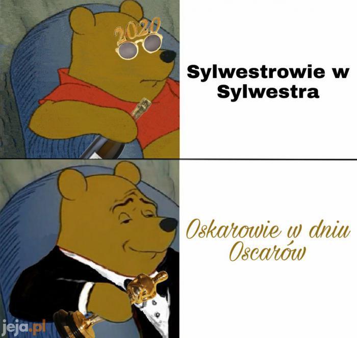 Lekko spóźniony mem Oscarowy