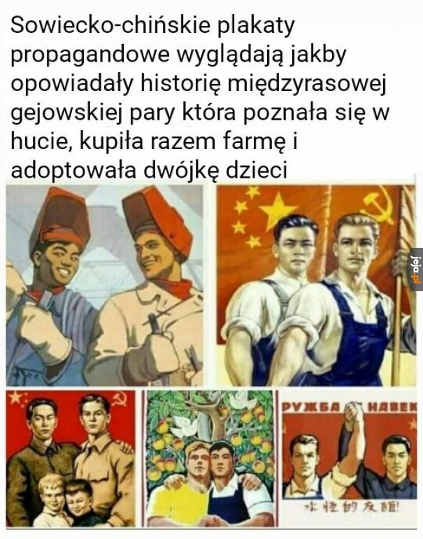 Socjalizm łączy ludzi
