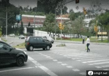 Nie ma takiego wjeżdżania na pasy!