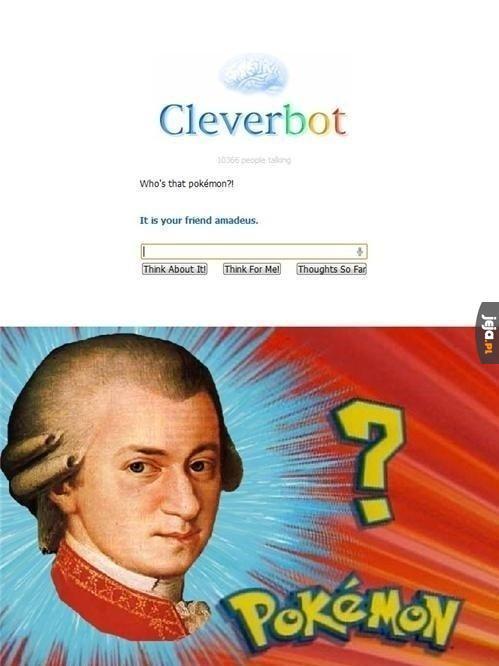 Mozart, wybieram Cię!