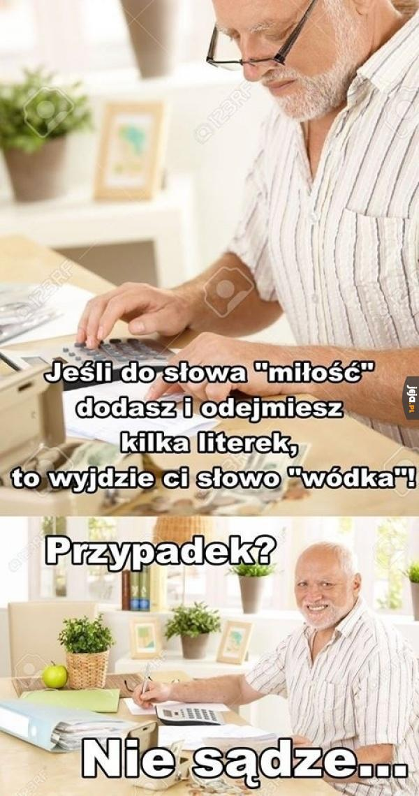 Wódka - jedyna miłość
