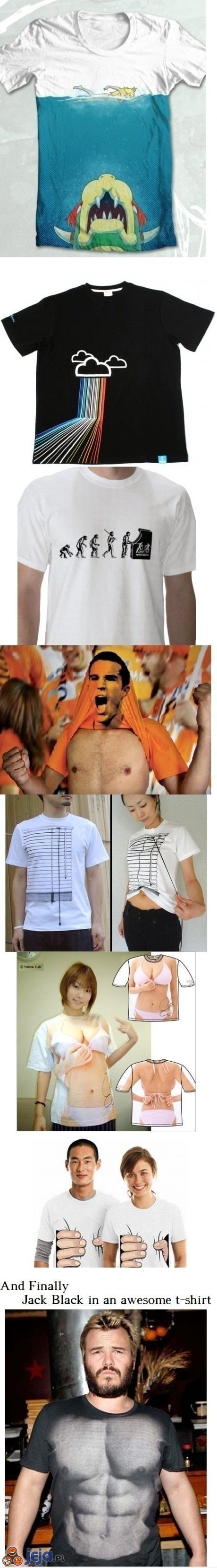 Niesamowite koszulki