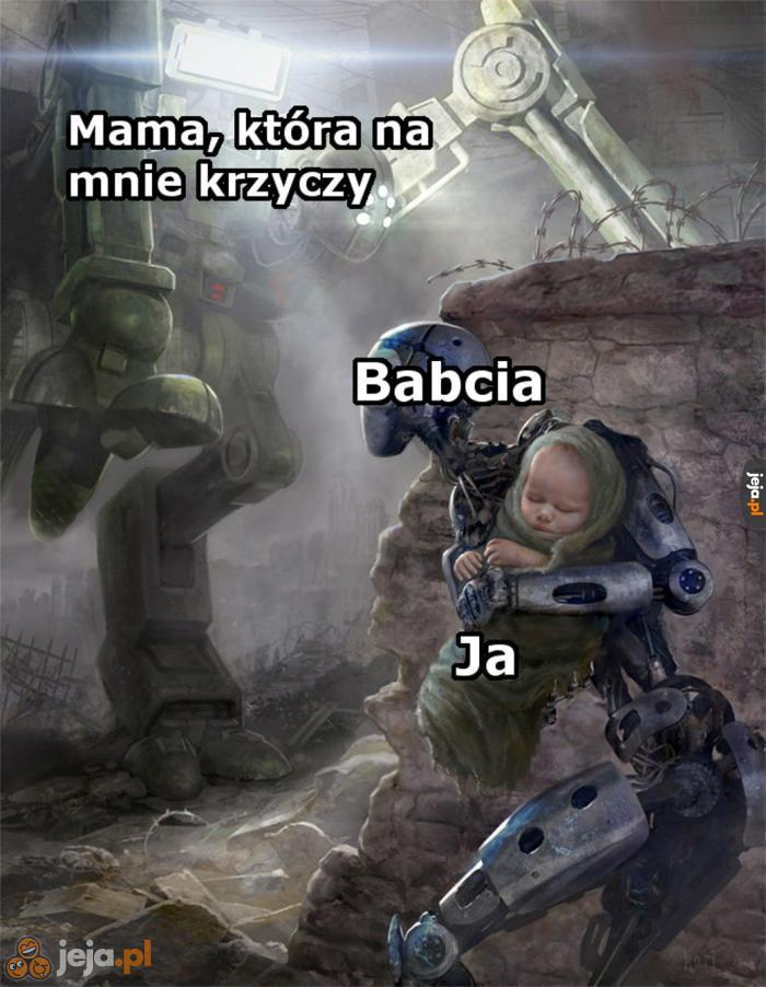 Babciu, ratuj!