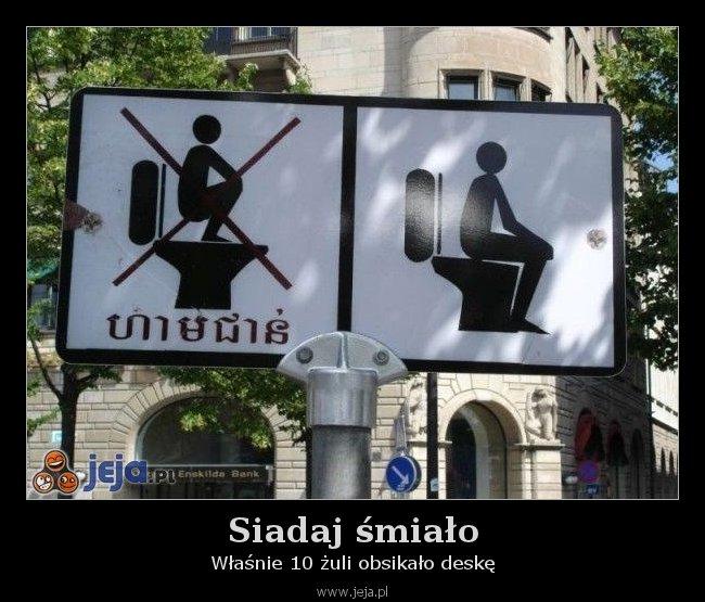 Siadaj śmiało