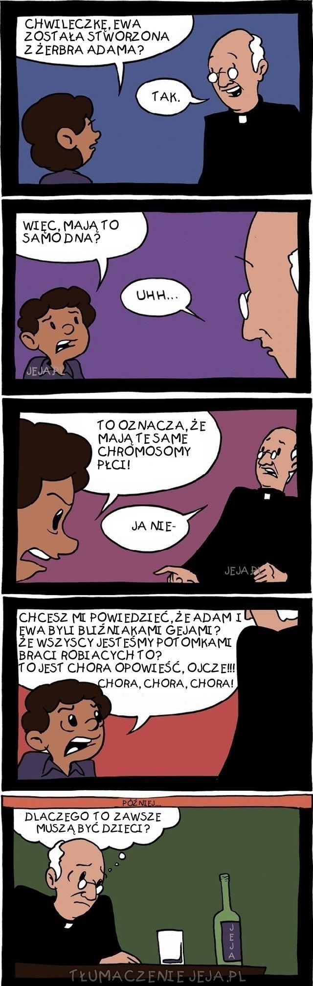 Rozmowa z księdzem