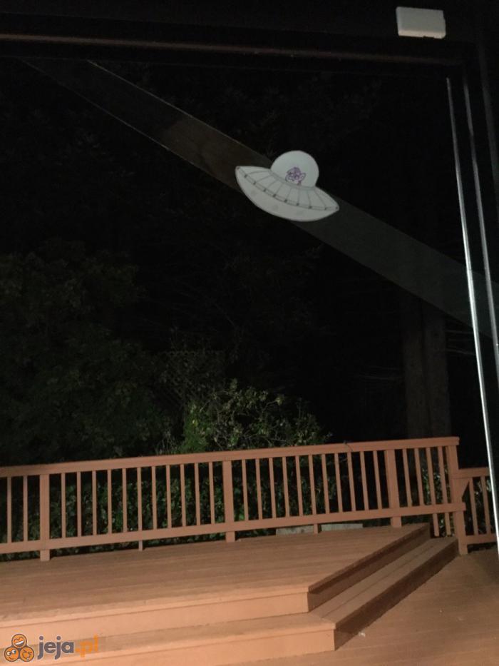 Zrobiłem zdjęcie UFO!