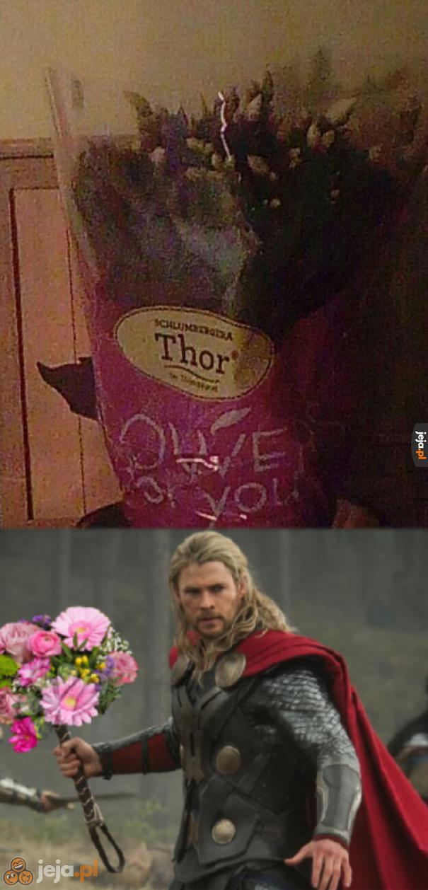 Najlepsze kwiaty tylko u Thora