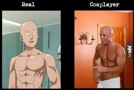 Cosplay One Punch Mana