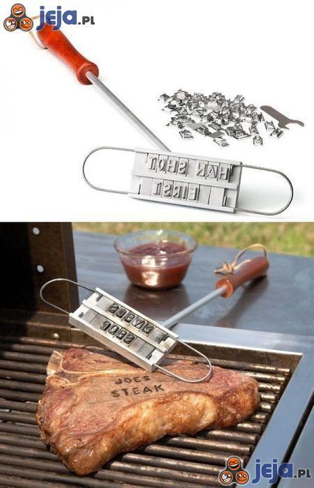 Oznakuj swój stek!