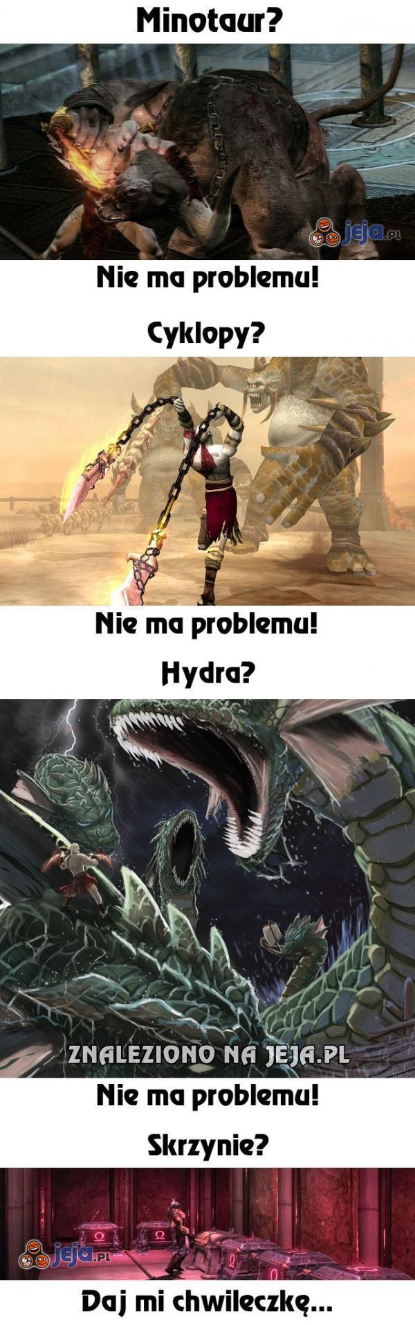 Logika w God of War