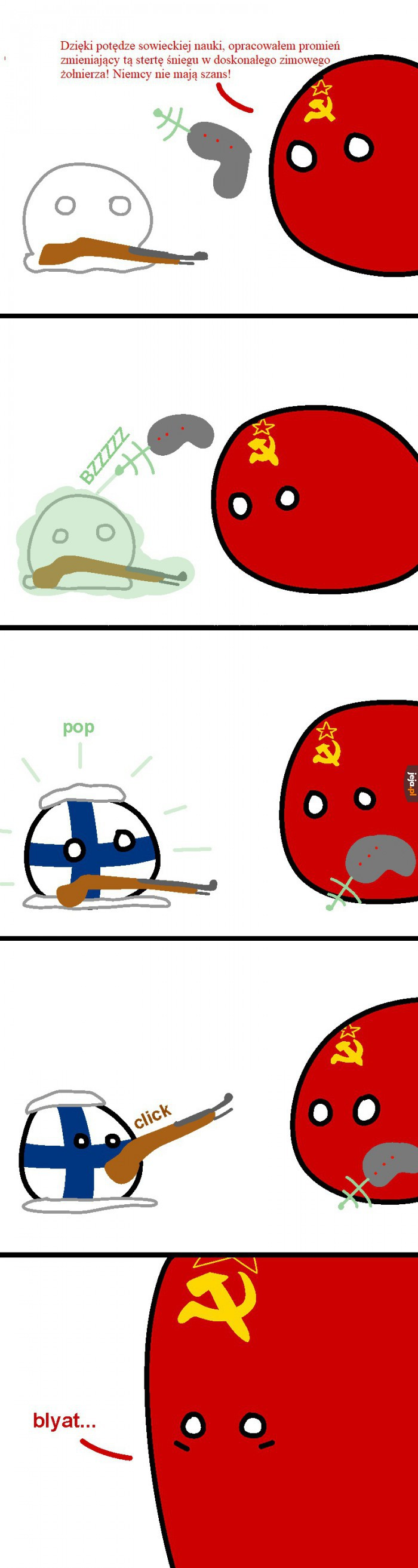 Zimowy żołnierz
