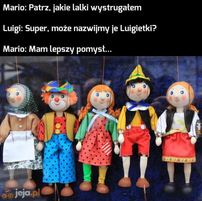 I tak powstały marionetki