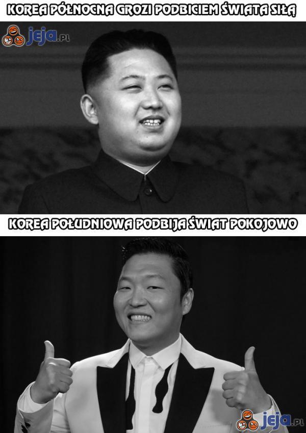 Korea Północna grozi podbiciem świata siłą