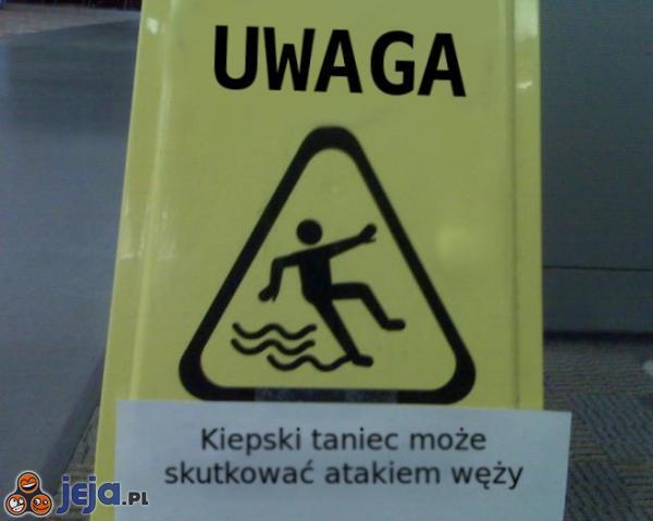 Takie ostrzeżenia powinny stać w każdym sklepie
