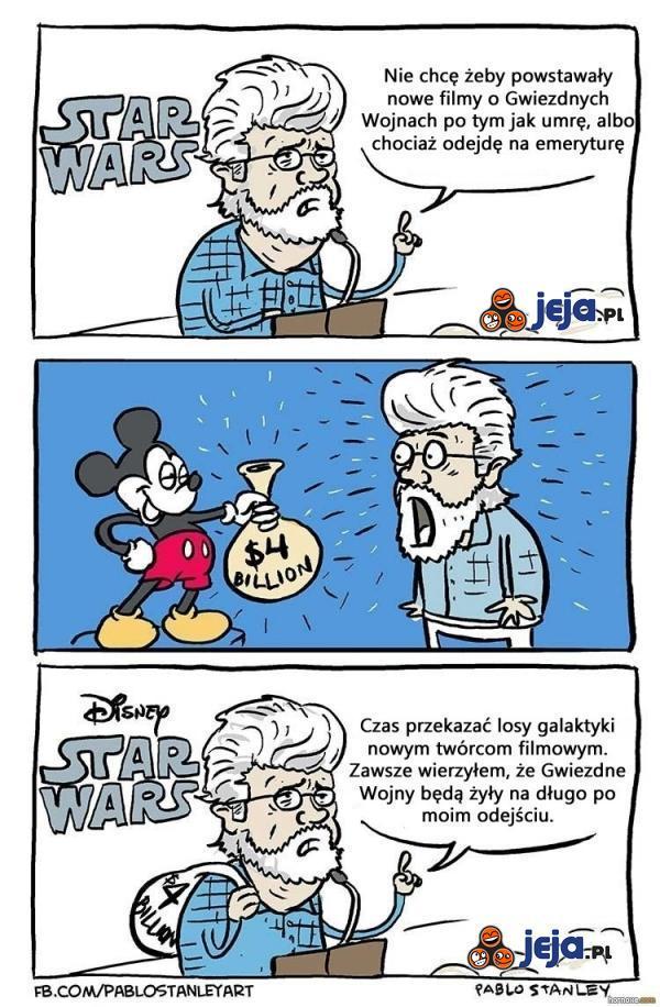 Disney kupuje Gwiezdne Wojny