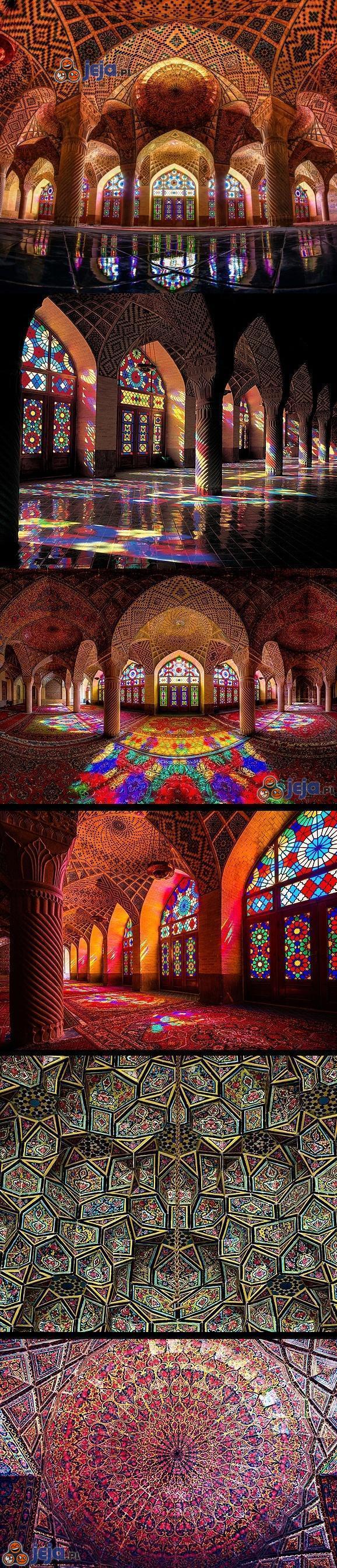 Niesamowita architektura w Iranie