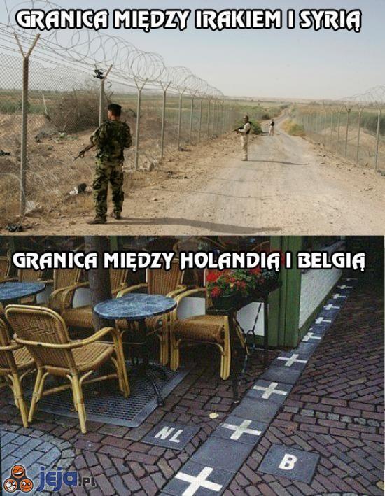 Granice między państwami
