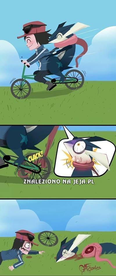 Jazda rowerem bywa niebezpieczna