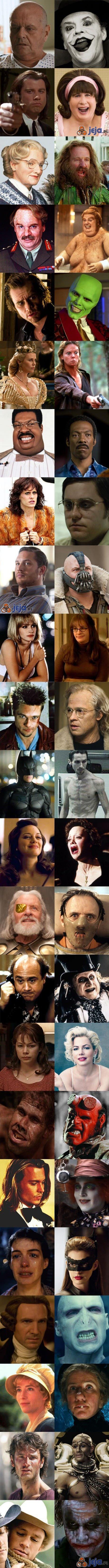 Aktorzy i ich odmienne role