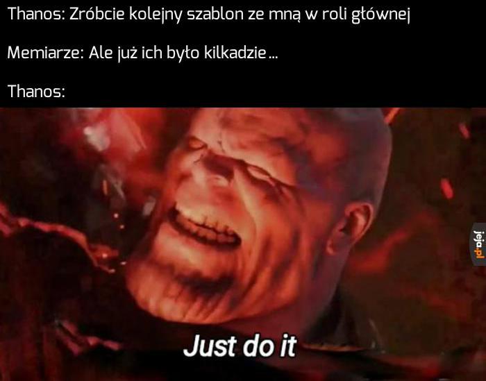 Thanos wiecznie żywy